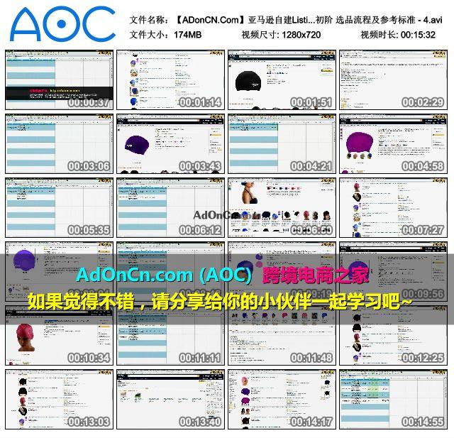 亚马逊自建Listing运营课程 09 产品开发初阶 选品流程及参考标准 - 4