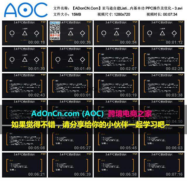 【ADonCN.Com】亚马逊自建Listing运营课程 31 站内基本功 PPC操作及优化 - 3.avi_thumbs_2016.02.18.19_38_49