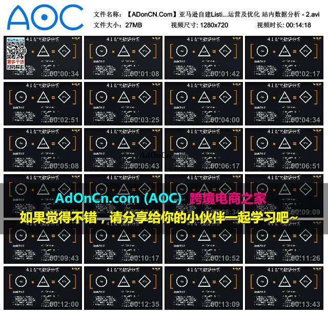 【ADonCN.Com】亚马逊自建Listing运营课程 36 账号运营及优化 站内数据分析 - 2.avi_thumbs_2016.02.18.19_39_23