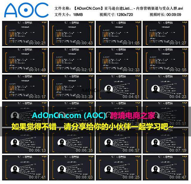 【ADonCN.Com】亚马逊自建Listing运营课程 48 站外流量探索 内容营销 - 内容营销渠道与受众人群.avi_thumbs_2016.02.18.19_40_45