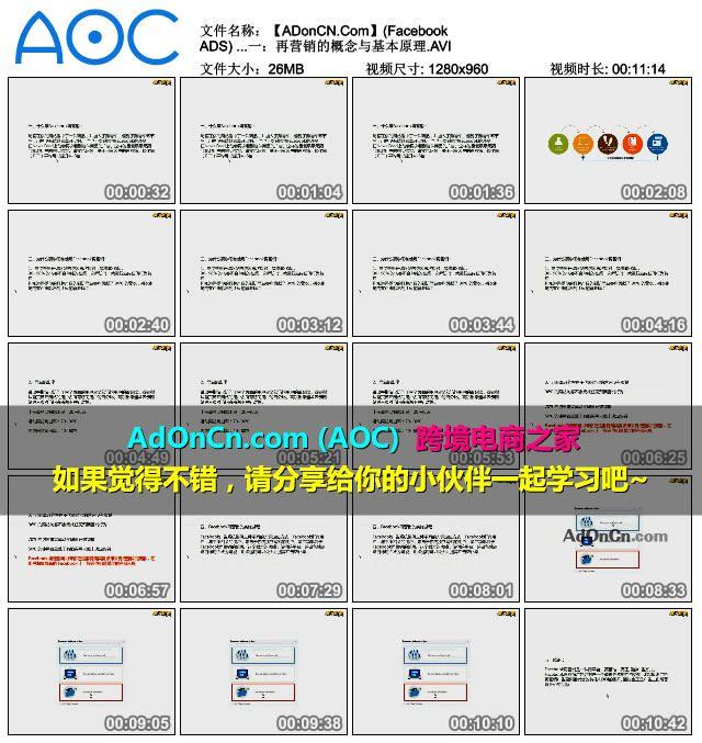 【ADonCN.Com】(Facebook ADS) Facebook广告实操案例从入门到精通 46 Facebook再营销一:再营销的概念与基本原理.AVI_thumbs_2016.02.18.15_12_05