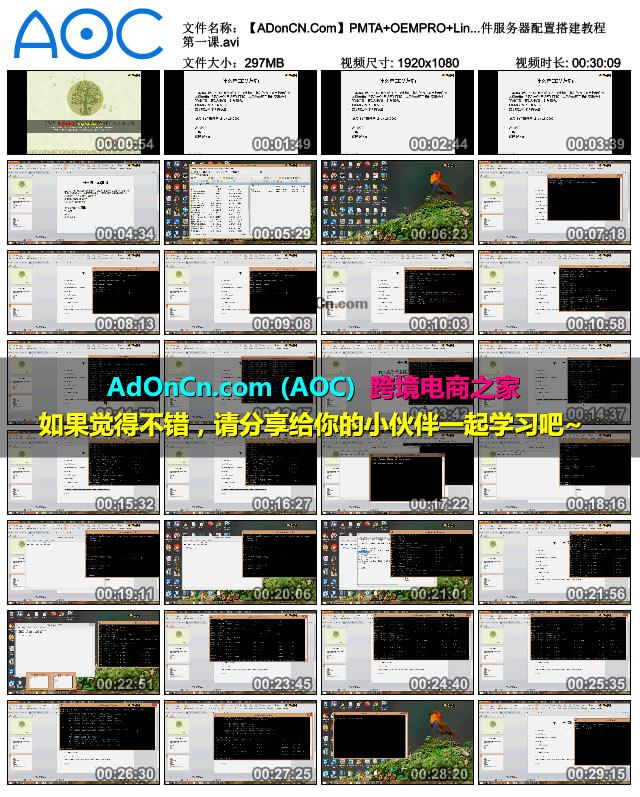 【ADonCN.Com】PMTA+OEMPRO+Linux 邮件服务器配置搭建教程 第一课.avi_thumbs_2016.02.18.21_18_56