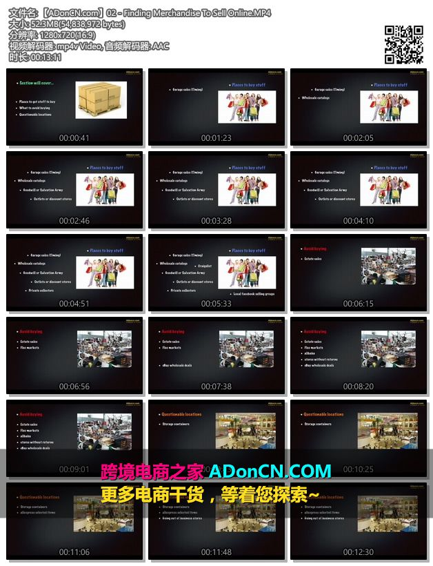 【ADonCN.com】02 - Finding Merchandise To Sell Online.MP4