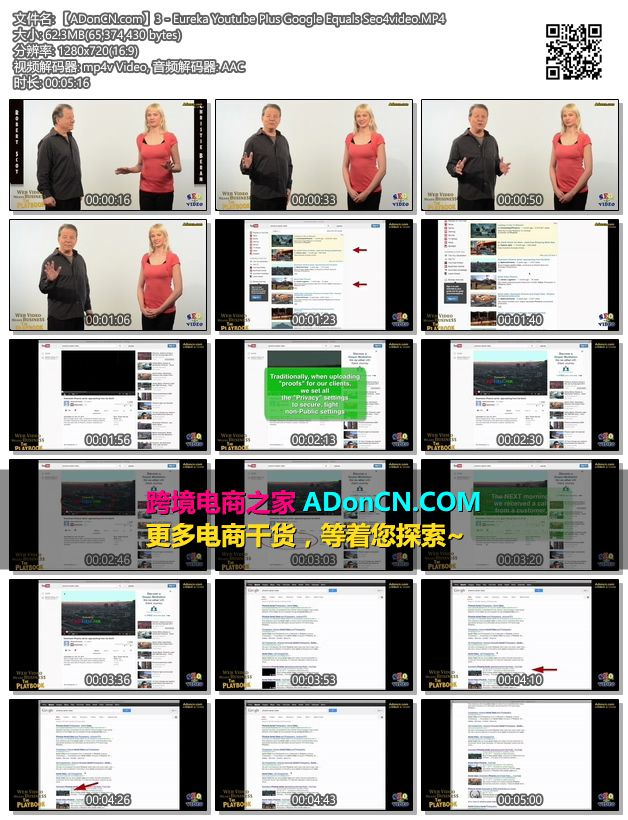 【ADonCN.com】3 - Eureka Youtube Plus Google Equals Seo4video.MP4
