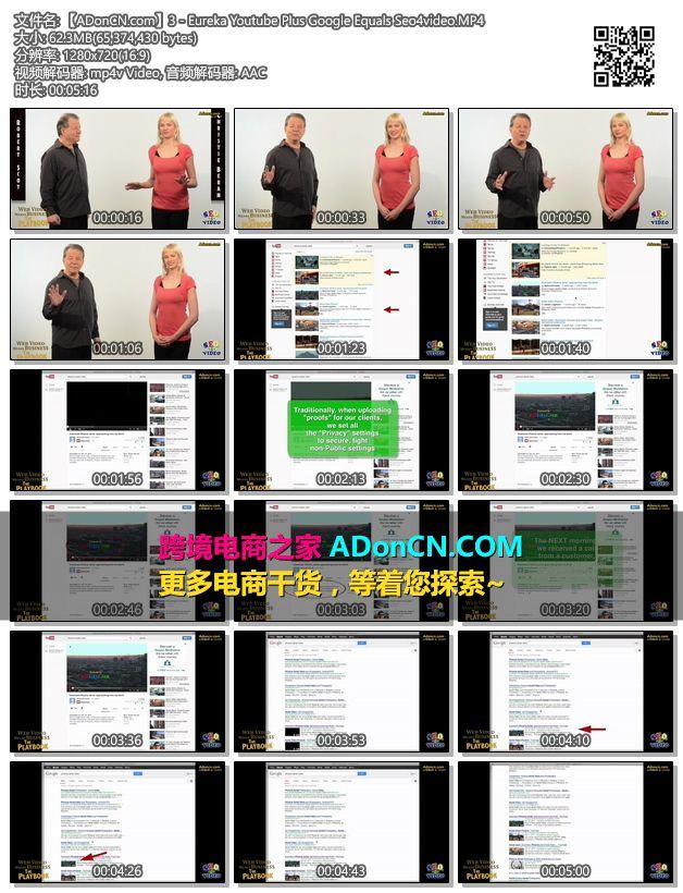 【ADonCN.com】3 - Eureka Youtube Plus Google Equals Seo4video.MP4