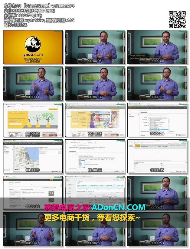 Bing Ads 必应广告平台(必应推广)基础培训视频教程