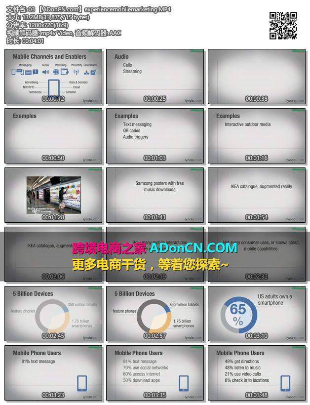 移动电商(移动电子商务)Mobile Market 基础培训视频教程