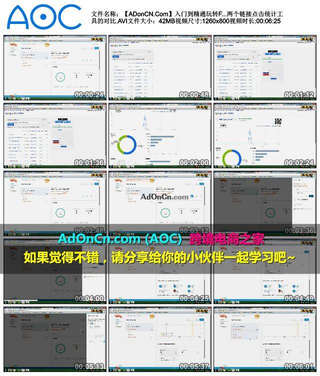 【ADonCN.Com】入门到精通玩转Facebook 21 谷歌和bitly两个链接点击统计工具的对比.AVI_thumbs_2016.02.17.21_41_21