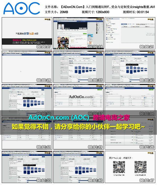 【ADonCN.Com】入门到精通玩转Facebook 28 Facebook广告之定制受众与定制受众insights数据.AVI_thumbs_2016.02.17.21_42_02