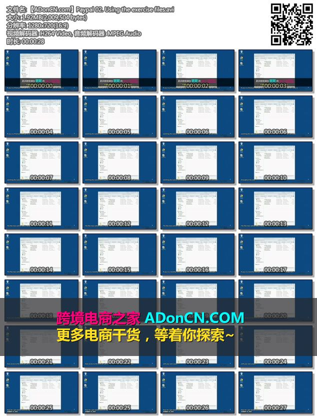 【ADonCN.com】Paypal 02. Using the exercise files.avi