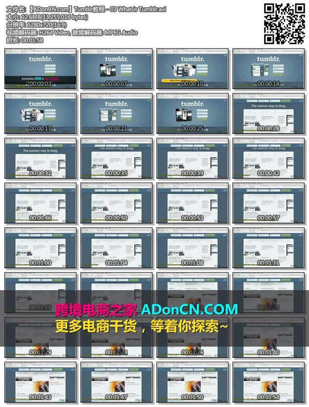 【ADonCN.com】Tumblr教程 - 03 What is Tumblr.avi