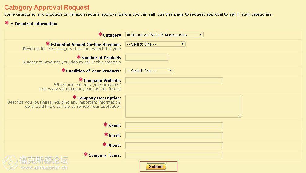 亚马逊分类审核:浅谈Automotive&Powersports(汽车及机动车)分类审核