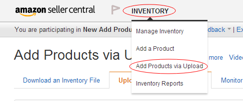 亚马逊卖家产品上传:批量上传 --如何查找 Item type