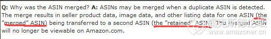 亚马逊卖家产品上架:Listing被合并了该怎麽处理? Merged ASIN 该怎麽处理?