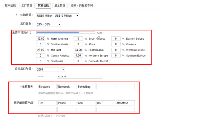 """[公司版块]阿里国际站:全球旺铺""""汽摩配""""行业home页面企业概览的数据来源是什么?"""
