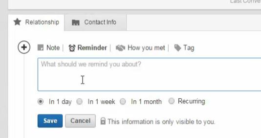 如何进行LinkedIn里的CRM管理