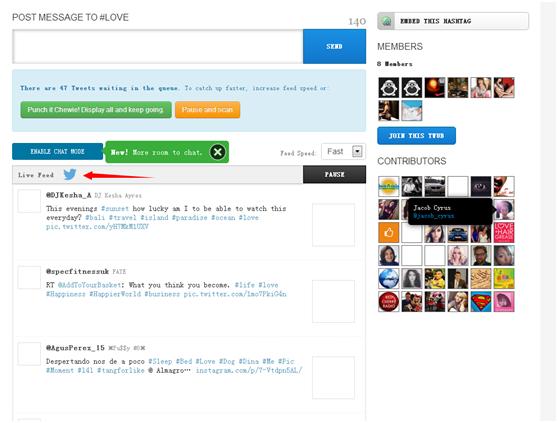 Hashtag的追踪工具