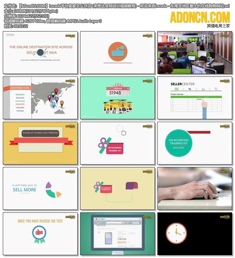 【ADonCN.COM】Lazada平台卖家怎么开店 (来赞达官网培训视频教程) - 欢迎来到Lazada - 东南亚地区最大的在线购物网站.avi