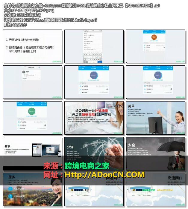 跨境微商怎么做 - Instagram营销培训:001 跨境微商必备上网工具 【ADonCN.COM】.avi