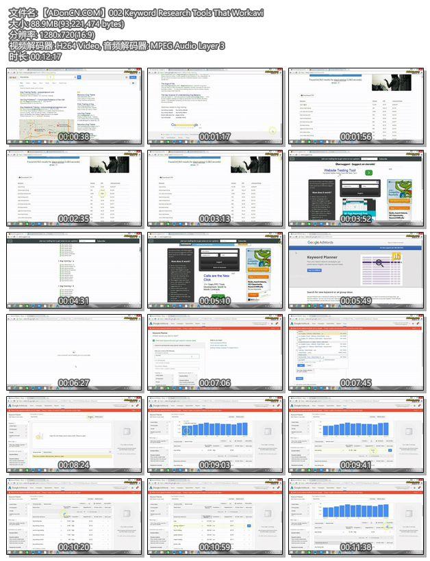 【ADonCN.COM】002 Keyword Research Tools That Work.avi