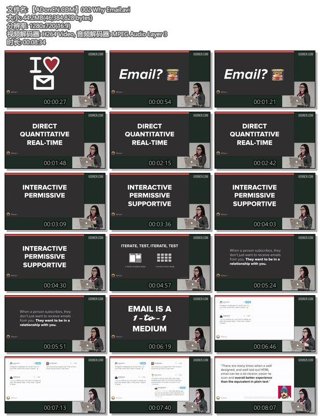 EDM电子邮件营销 - 设计响应式的HTML邮件营销页面