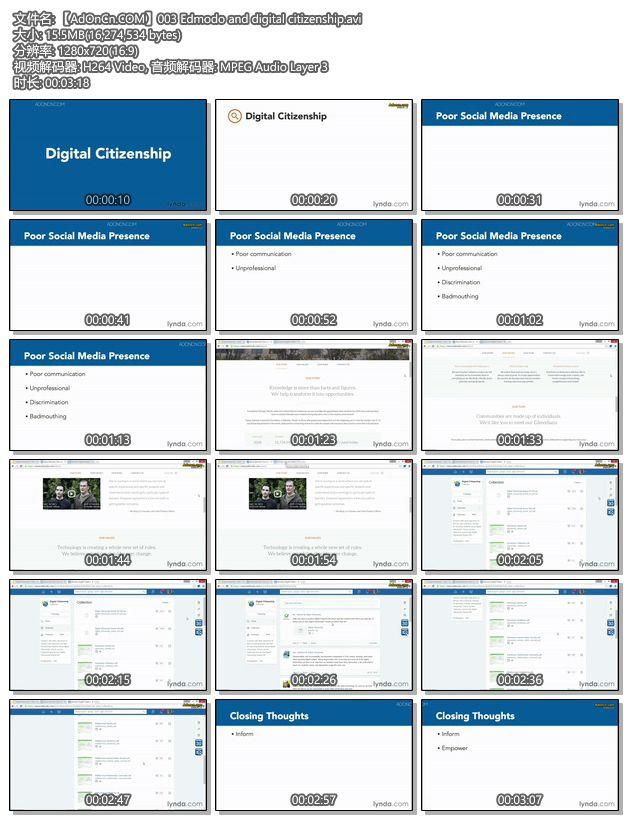 【AdOnCn.COM】003 Edmodo and digital citizenship.avi