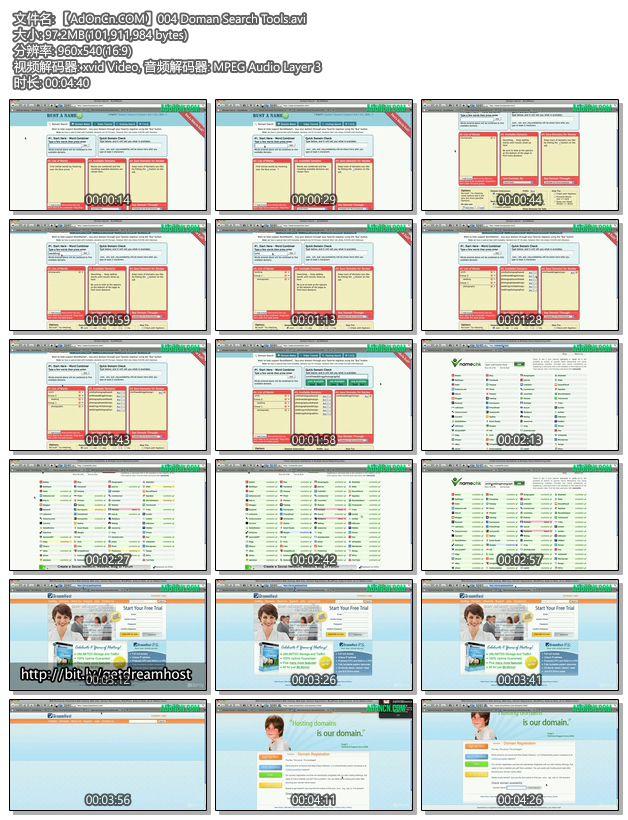 【AdOnCn.COM】004 Doman Search Tools.avi