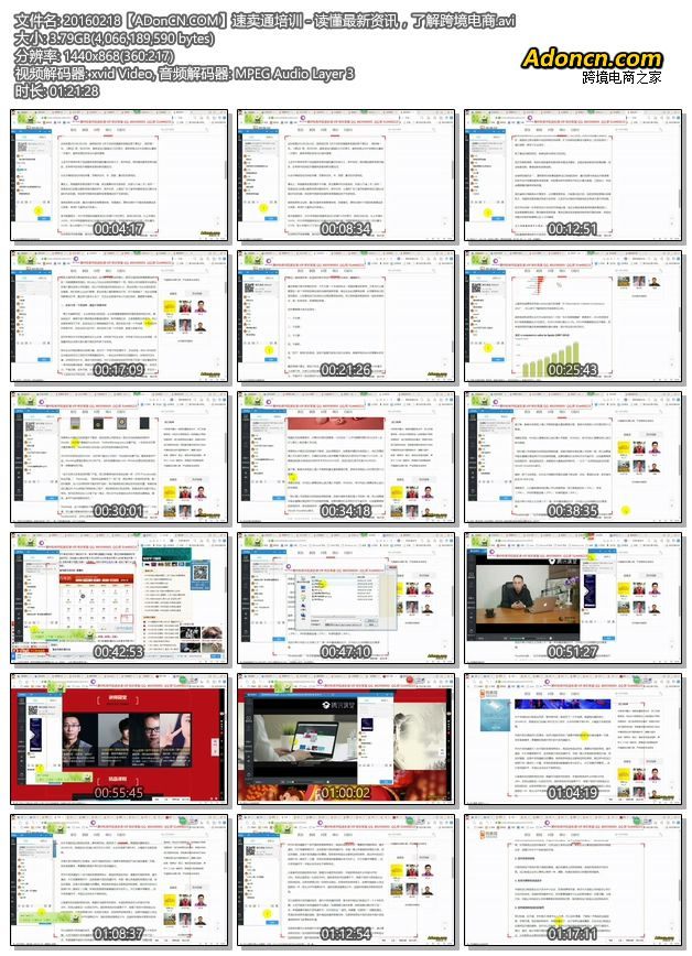 20160218【ADonCN.COM】速卖通培训 - 读懂最新资讯,了解跨境电商.avi
