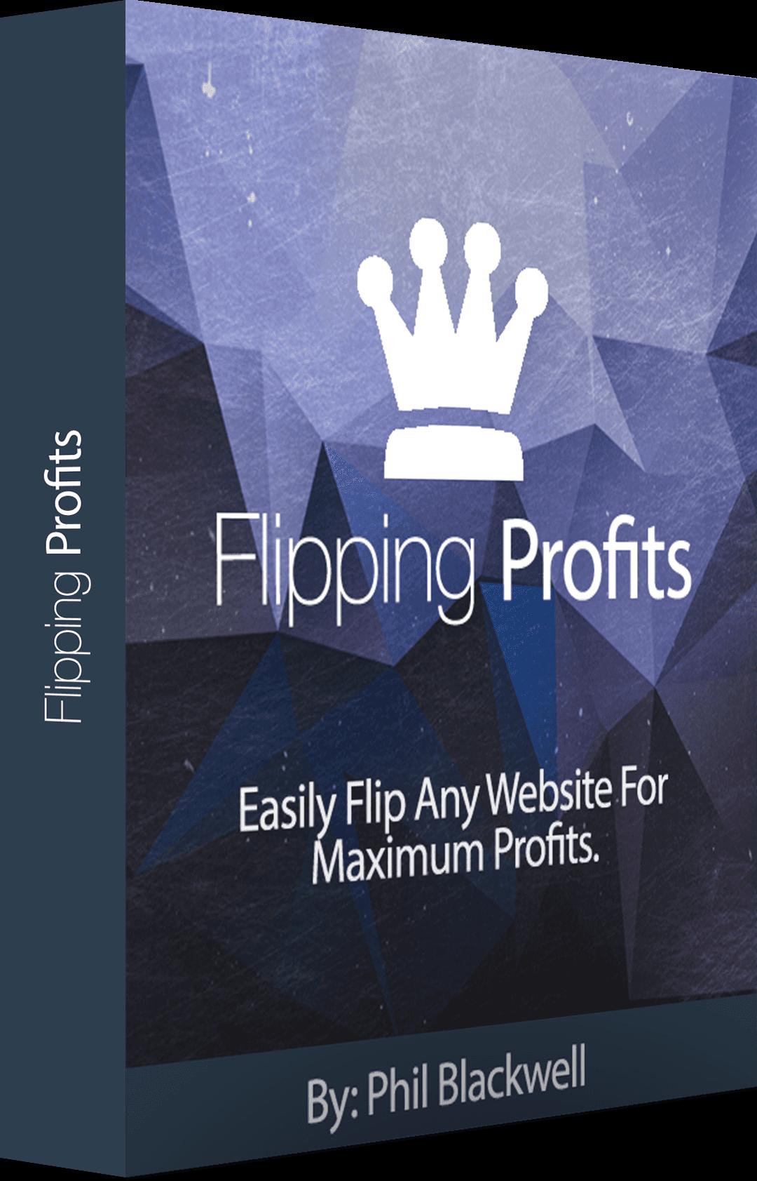 如何轻松的把13美元变成3000美元,而不需要任何技术或营销技巧。(Flipping Profits)