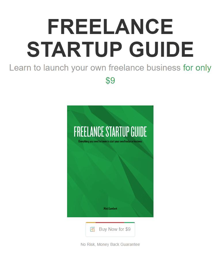 十五年经验指导你如何建立您自己的成功的自由职业之路(Freelance Startup Guide)