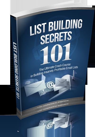 不要在找借口了!你先看看您的精准邮件营销订阅列表增长!在看看你的银行账户资金增长!(List Building Secrets 101)
