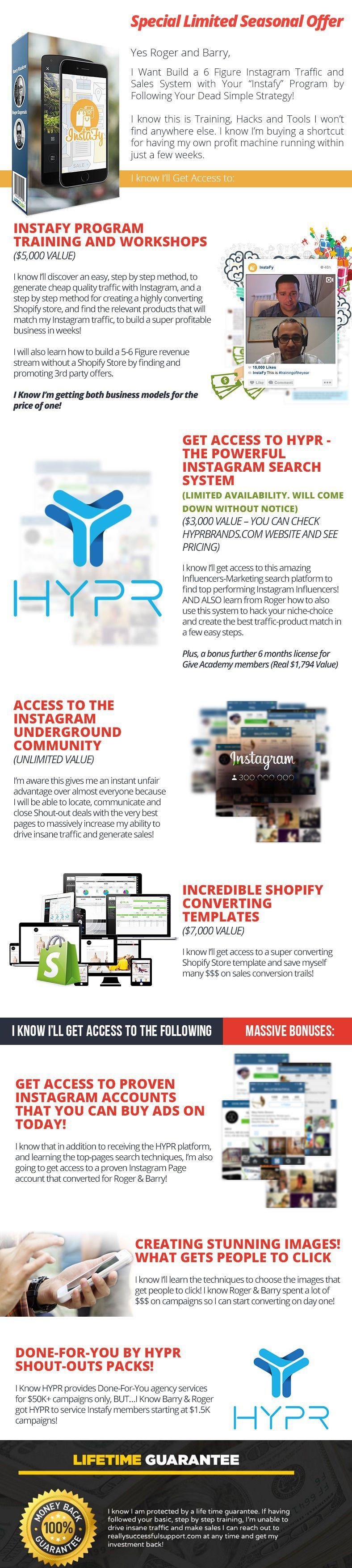 教你如何在Instagram引流到Shopify店铺销售相关流量高转化产品(Instafy Gold)