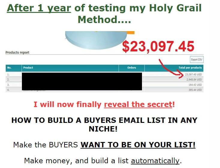 如何充分利用每一个邮件列表订阅者获益 How to make money with Every Single Subscriber(List Building Holy Grail)