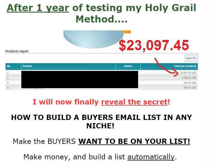 如何充分利用每一个邮件列表订阅者获益 How to make money with Every Single Subscriber(List Building Holy Grail)
