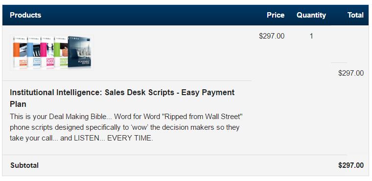 """交易圣经 Word for Word """"Ripped from Wall Street"""" phone scripts(Institutional Intelligence)"""