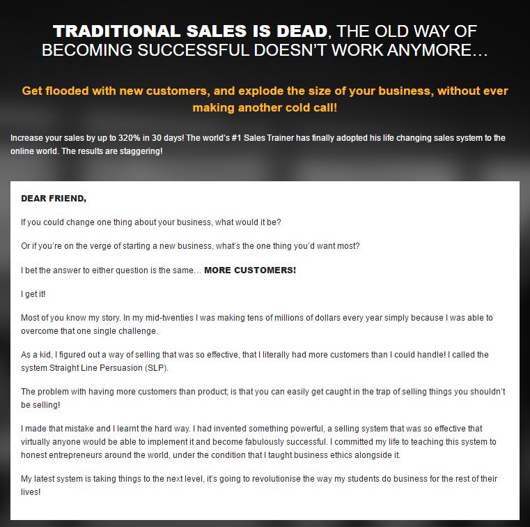 如何在30天内把你的销售额提高到320%(Straight Line Marketing)
