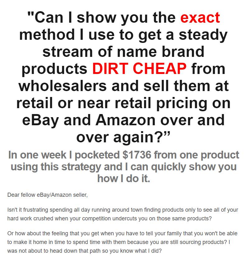 批发价品牌产品零售价销售,分享我是如何在eBay+Amazon上销售的!(Wholesale Intel Crash Course)