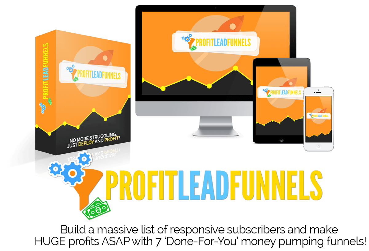 productshot - If You're NOT Building a Mailing List, You're Leaving TONS of Money on The Table!(Profit Lead Funnels)