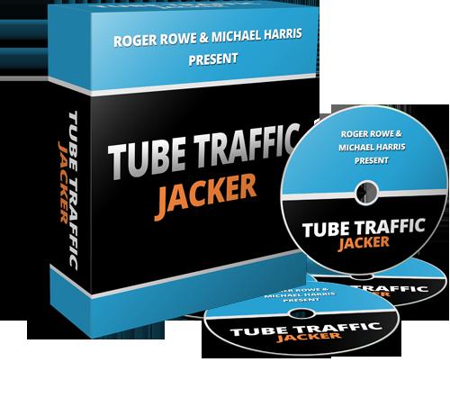 tube traffic jacker dvd package - Youtube Business Strategy而无须自己创建视频 + 一周内优化视频排名 Rankings No.1 (Tube Traffic Jacker)