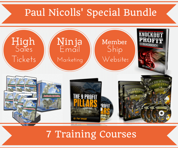 Internet Marketing Success Secrets(Paul Nicholls' Super Bundle)
