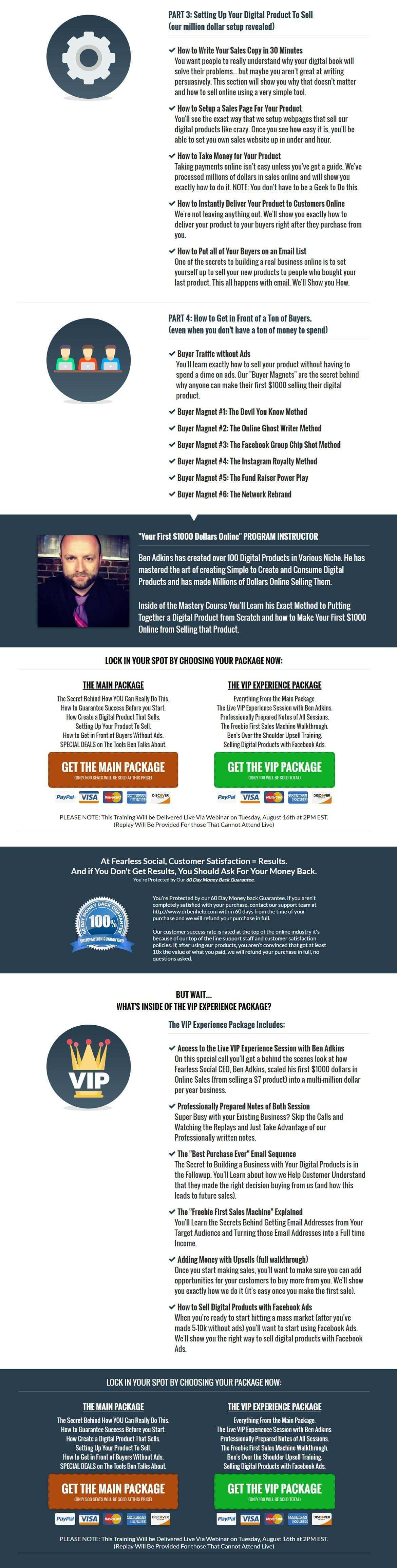 一步一步的策略,赚你的第一笔靠网络赚钱之$1000美元。(Ten Dollar Time Bombs)