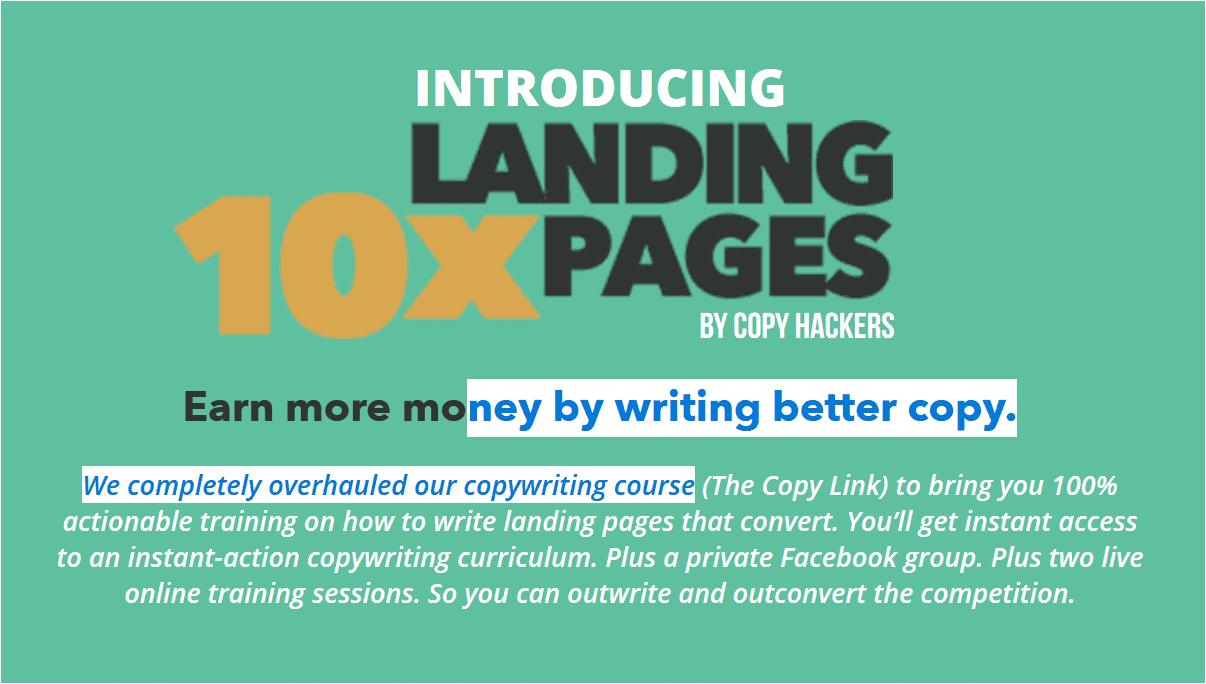 实战教你如何编写高转换率的Landing Pages(10x Landing Pages)