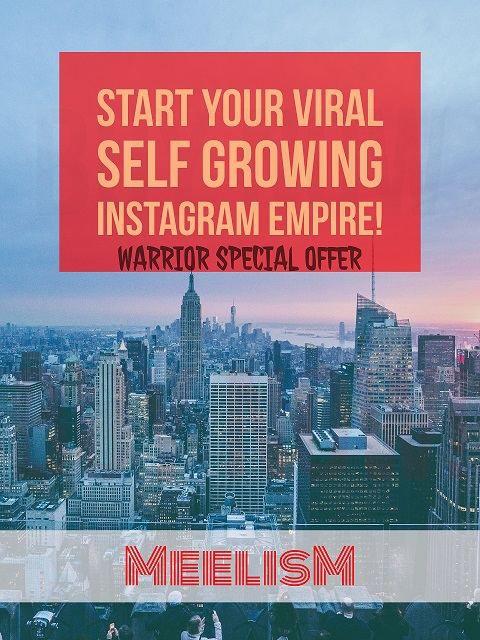 你是否已经厌倦了这么多的培训教程,说他们教你如何赚到多少日入多少,但是你却从来没有真正做到过,感觉被骗了?(Start Your Viral Self Growing Instagram Empire)