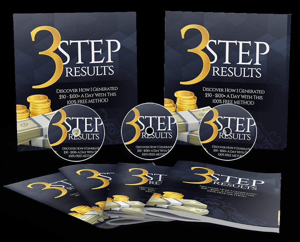 分享一个独特的流量来源将会带来惊人的关联销售(3 Step Results)