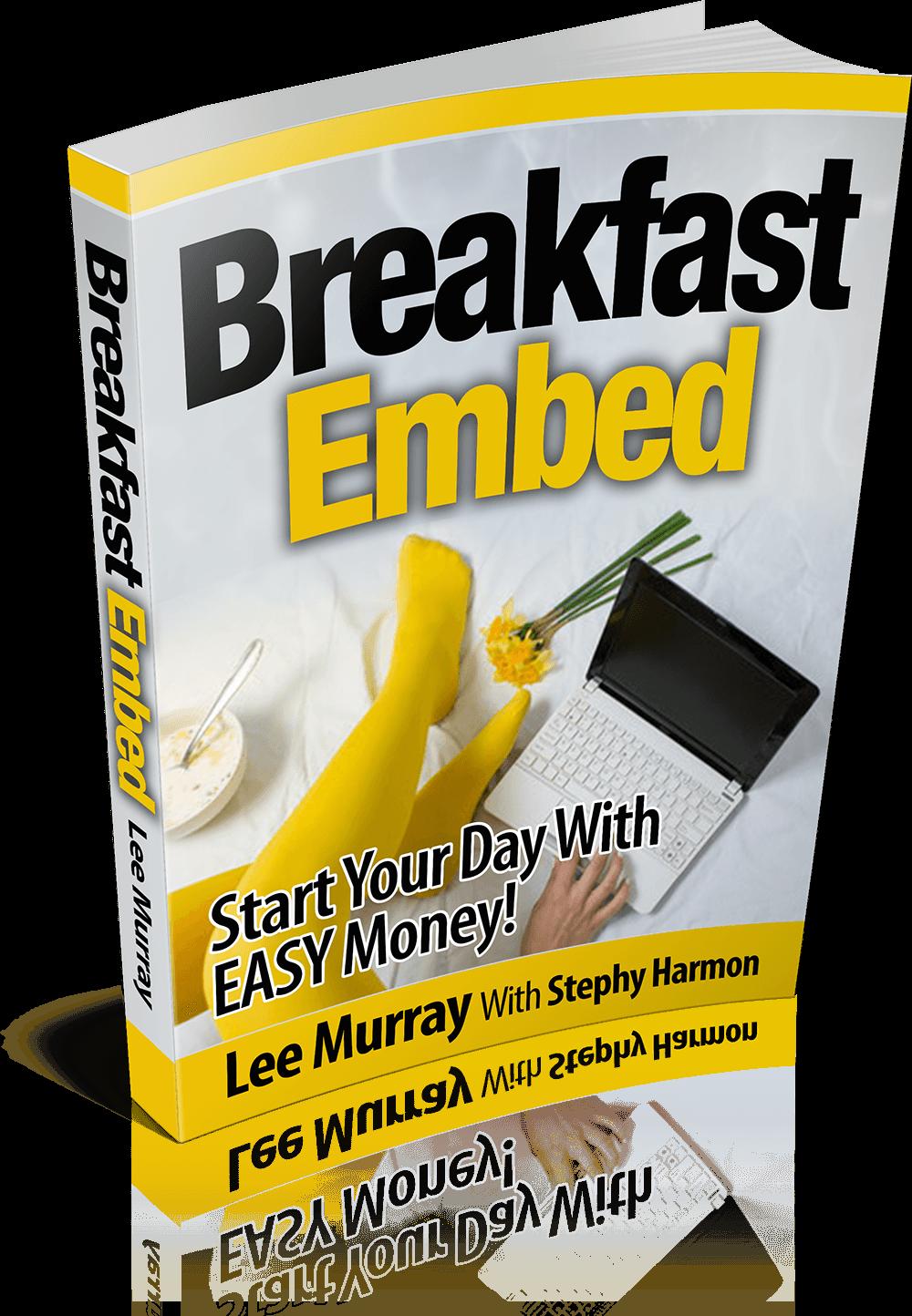 教你如何建立以他人YouTube视频作品为中心的网站加上自己的文字介绍获取大量免费流量(Breakfast Embed)