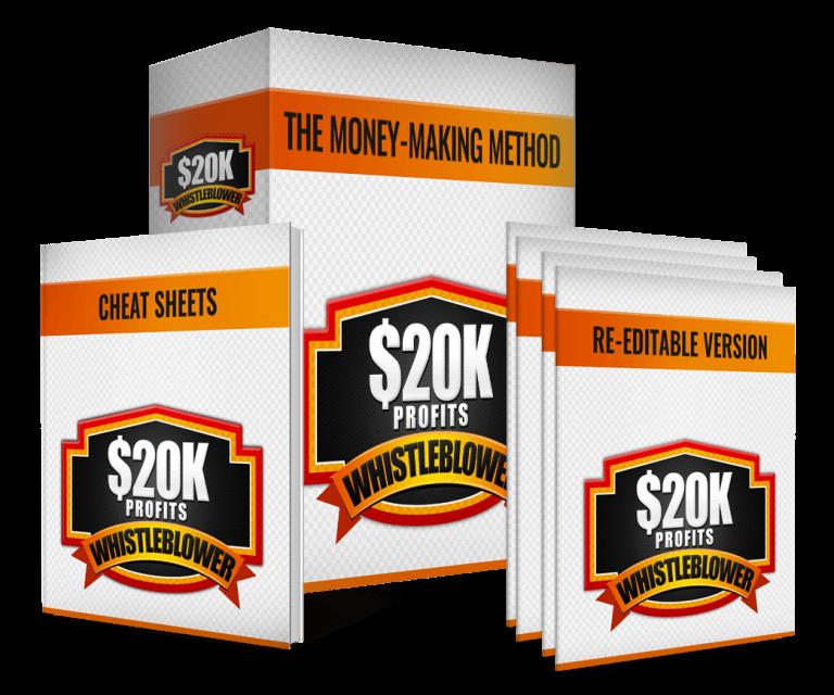 一步一步的训练培训你如何每天挣7美元或更多(20k Profits Whistleblower)