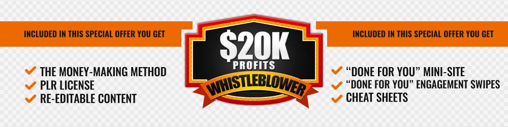 一步一步的训练培训你如何每天挣$267美元或更多(20k Profits Whistleblower)