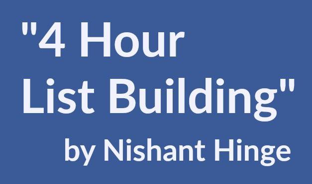 每月花费数百万美元的顶级电子邮件营销公司的秘密(4 Hour List Building)