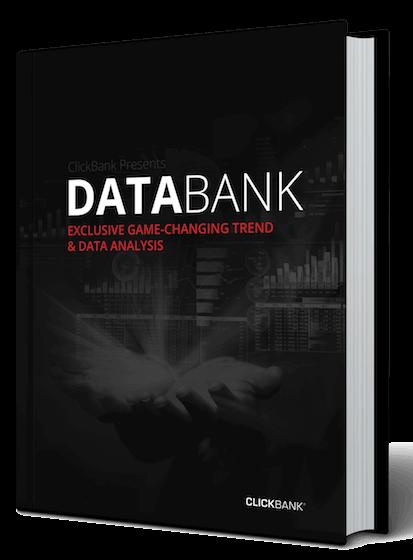 趋势信息和数据洞察是在线营销人员强大的工具 - Clickbank不希望你被遗忘, 免费!(Clickbank's  Databank)