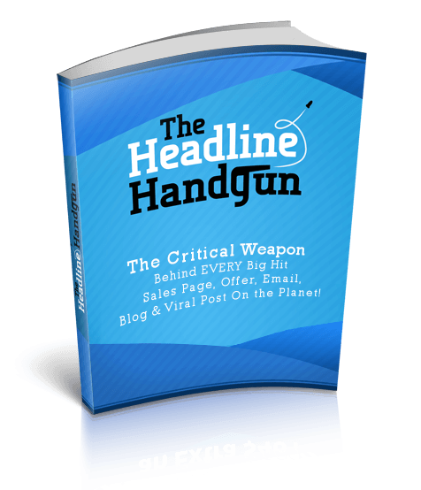 HHLogo - 吸引人注意力的标题是你成功的第一步 复制+粘贴+调整和赚钱(The Headline Handgun)